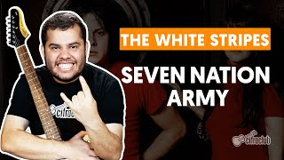 Videoaula SEVEN NATION ARMY - The White Stripes (aula simplificada) | Como tocar na guitarra