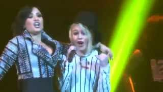 Demi Lovato - Give Your Heart A Break (Live with Bea Miller in San Jose, CA)