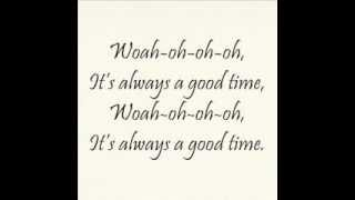 Carly Rae Jepsen feat Owl City - Good Time - Video Lyrics