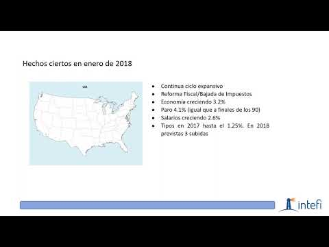 Herramientas de inversión y perspectivas del mercado para 2018