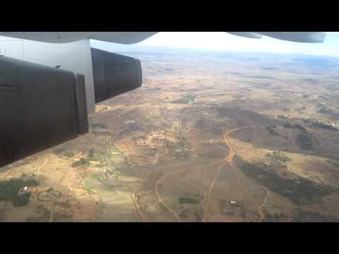 Landing at Antananarivo (TNR), Madagascar