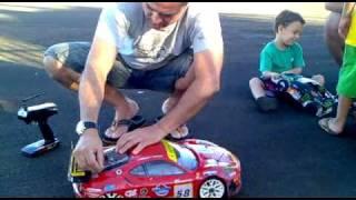 Ferrari da Fluke-sp em aquecimento.