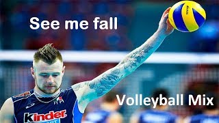 See me Fall-Volleyball mix