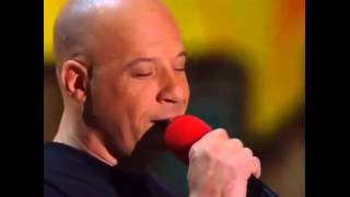 "Vin Diesel canta ""See You Again"""