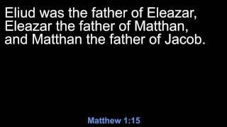 Matthew 1 (New American Standard Bible)