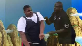 Fat Black Guy Dancing vs Dancing Secuirty Guard[Ultimate Meme Battles]