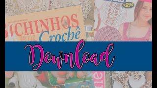 Baixe revistas de artesanato e aprenda com passo a passo e gráficos
