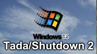 Windows 95 Sound: Tada/Shutdown 2