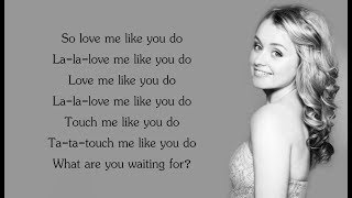 Ellie Goulding - Love Me Like You Do (Lyrics)(Samantha Dorrance Cover)