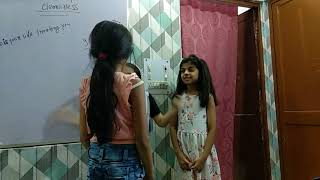 Role Play By Kids on Cleanliness