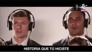 ~NUEVO HIMNO DEL REAL MADRID, #LAUNDÉCIMA, en versión mejorada con Placido Domingo.. #HALA MADRID