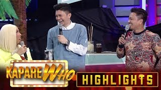 Vice Ganda gets annoyed with Vhong's questions for Chess Chess Yo | It's Showtime KapareWho