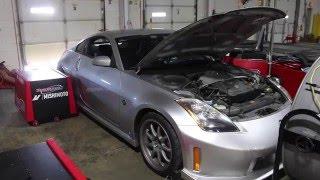 Mishimoto 2003-2006 Nissan 350Z Silicone Induction Hose Testing