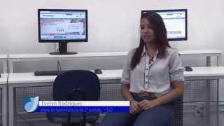Caso de Sucesso EaD - Aluna Evelyn Rodrigues do curso de Administração EAD