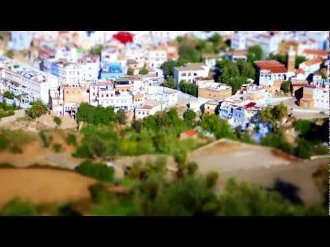 Chefchaouen, Morocco – Tilt Shifted