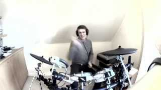 Afrojack ft Spree Wilson:The Spark - Drum cover