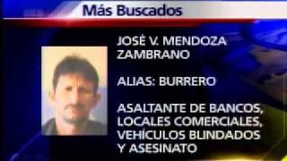 Los 10 delincuentes más buscados de Ecuador