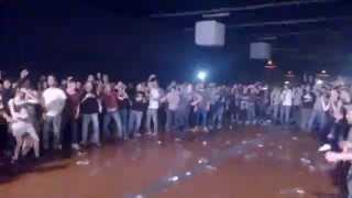 Foreign Beggars live - Wall of death @ Rivolta (26-04-14)