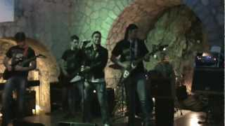 Saxon And the Band Played On BLACK WIZARDS  Cover Live Lanterna Verde RnD 2.0  10/02/2013