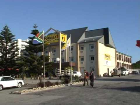 Port Elizabeth flaga RPA przy hotelu