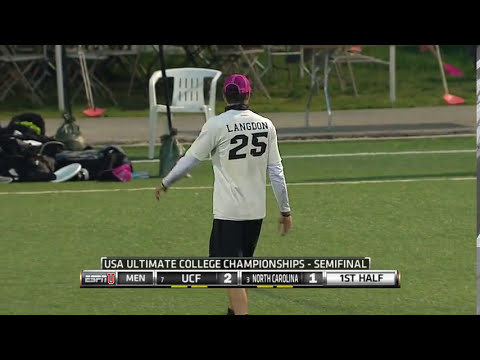Video Thumbnail: 2015 College Championships, Men's Semifinal: North Carolina vs. Central Florida