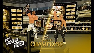 Top 10 Clash of Champions moments   WR3D width=