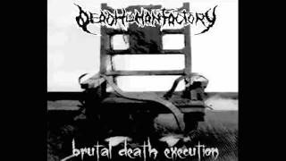 Dead Human Factory - bloodbath ft. Giannis Nakos (Mortal Torment/Procreate)