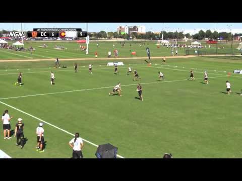 Video Thumbnail: 2014 National Championships, Women's Pool Play: Washington D.C. Scandal vs. Denver Molly Brown
