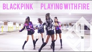 [MN🔥USA] BLACKPINK (블랙핑크) - PLAYING WITH FIRE (불장난) DANCE COVER