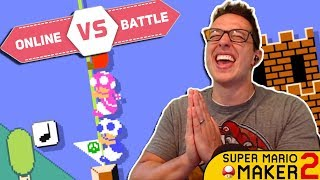 My Quest To Become THE BEST MARIO MAKER 2 PLAYER!! | ONLINE BATTLES [#1]