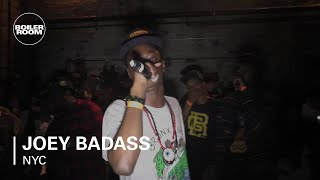 Joey Badass - 'Funky Ho$' - live in the Boiler Room New York x RBMA