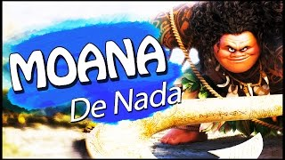 """Música do filme MOANA: """"De Nada"""" em PORTUGUÊS"""