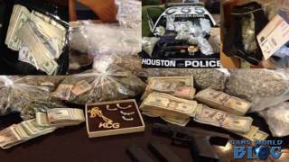 8 gang members arrested in synchronized drug raids in Fort Bend County (Texas)