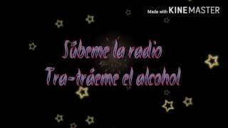 Súbeme la radio  Letra Enrique Iglesias Descemer Bueno ft Zion & Lennox]