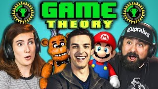 ADULTS REACT TO GAME THEORY (MatPat)
