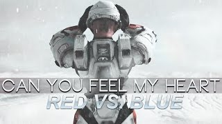 Red vs. Blue | Can You Feel My Heart [AMV]