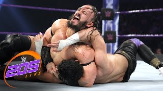 Neville vs. TJP - WWE Cruiserweight Championship Match: WWE 205 Live, June 6, 2017