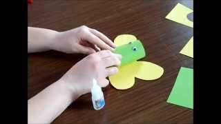 Cómo hacer una mariposa con un rollo de papel