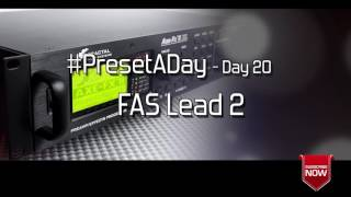 #PresetADay - FAS Lead 2 - AXE FX II / AX8 Rhythm and Solo Patches