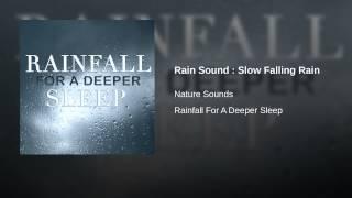 Rain Sound : Slow Falling Rain