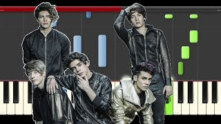 CD9 Lo Que te Hace Perfecta piano cover midi tutorial sheet partitura how to play notas