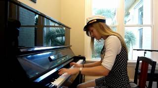 Lara plays the Ocean theme from Zelda Windwaker