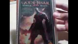 God Of War Ghost Of Sparta unboxing