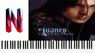 Juanes - La Camisa Negra Piano Cover   Synthesia