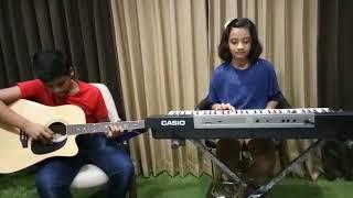 Phoolon ka taron ka...cover by Sumant and Anaya Agarwal, Anthem Music,Surat