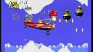 Knuckles in Sonic the Hedgehog 2 - Sky Chase - Score 372900