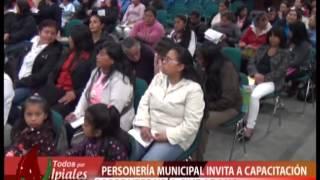 PERSONERIA INVITA A CAPACITACIÓN SOBRE VEEDURIA CIUDADANA