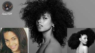 Celebrities Show Off Their Natural Hair! (Zendaya, Rihanna, Nicki Minaj, Beyonce, etc.)