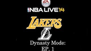 NBA Live 14 Dynasty Mode: Los Angeles Lakers [Ep.1] - Creation/Intro