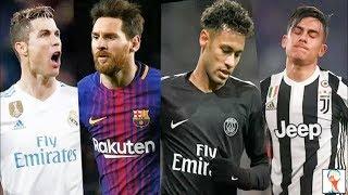 Ronaldo vs Neymar vs Messi vs Dybala Despacito